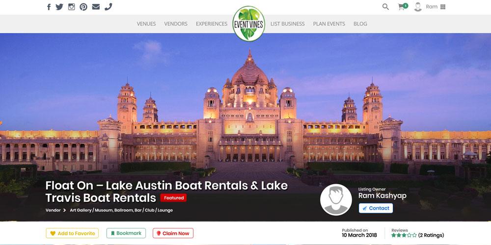 Event Vines - Digital Marketing Agency