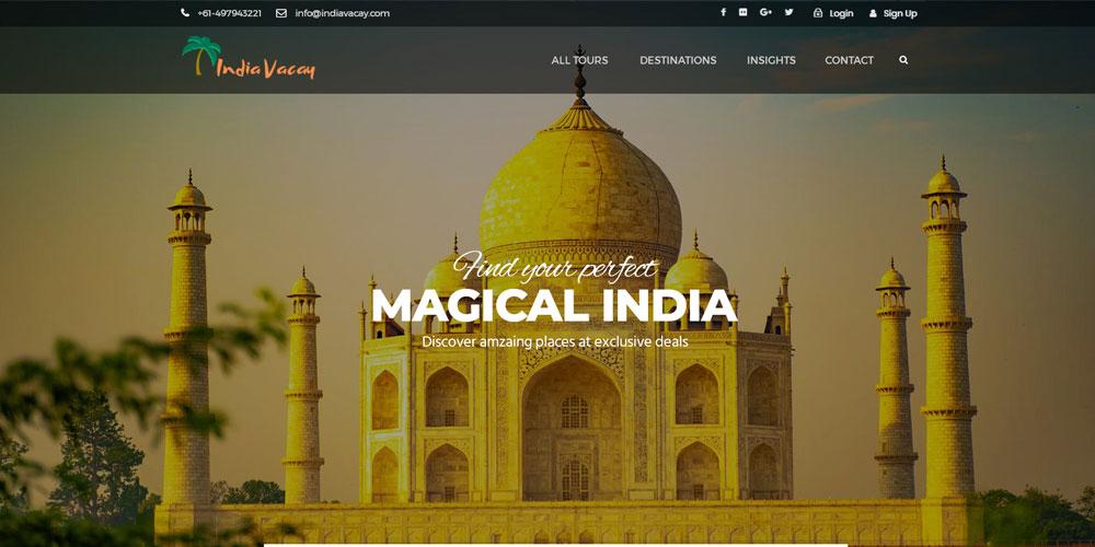 India Vacay - Digital Marketing Agency
